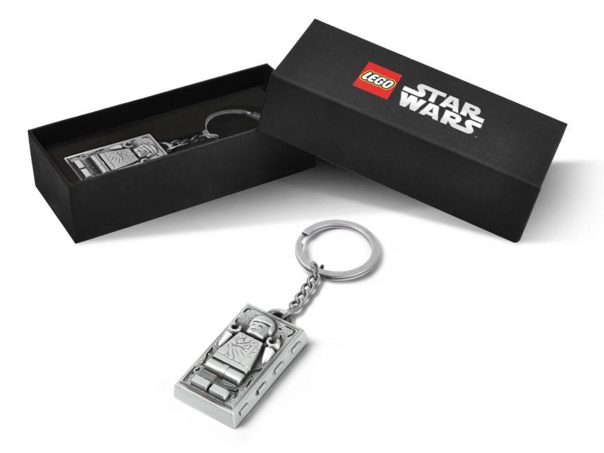 LEGO® Star Wars™ Han Solo™ Karbonit-Schlüsselanhänger aus Metall (5006363) | ©LEGO Gruppe