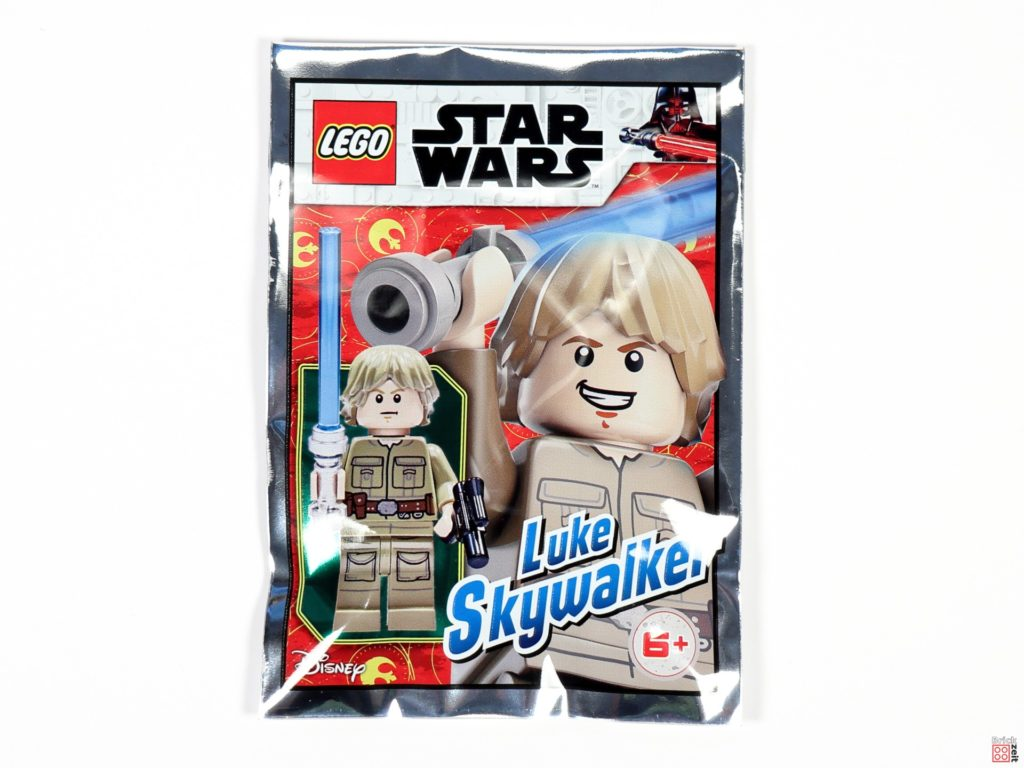 Bespin Luke Skywalker Polybag, Item-Nr. 912065, Vorderseite | ©Brickzeit