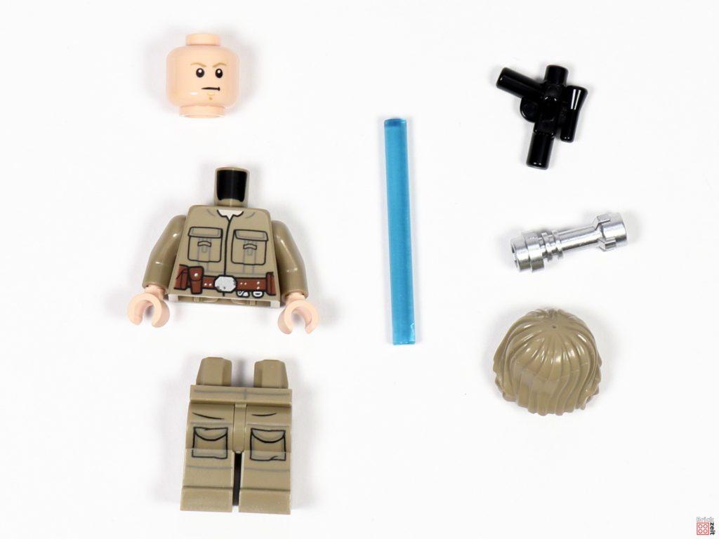 Bespin Luke Skywalker , Einzelteile im Polybag | ©Brickzeit