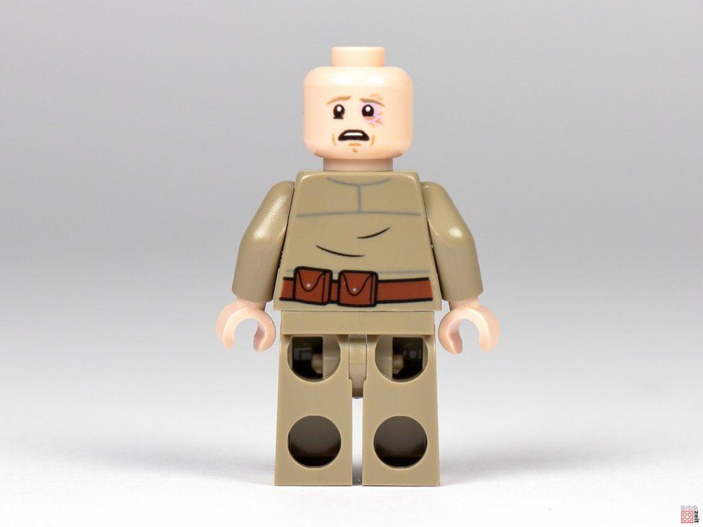 Bespin Luke Skywalker ohne Haare mit blauem Auge | ©Brickzeit