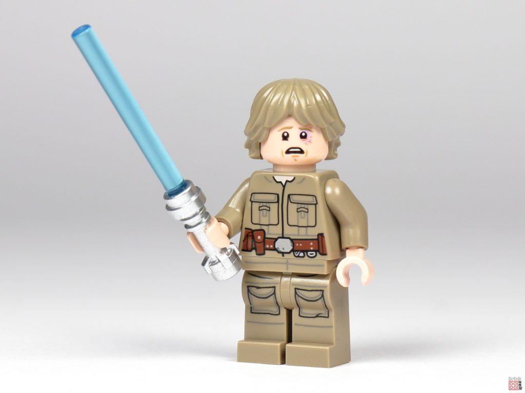 Bespin Luke Skywalker mit Lichtschwert und blauem Auge | ©Brickzeit
