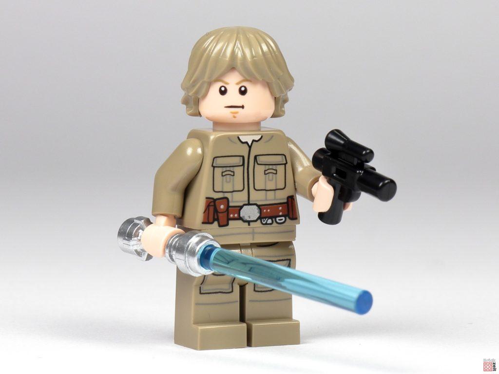 Bespin Luke Skywalker mit Lichtschwert und Blaster | ©Brickzeit