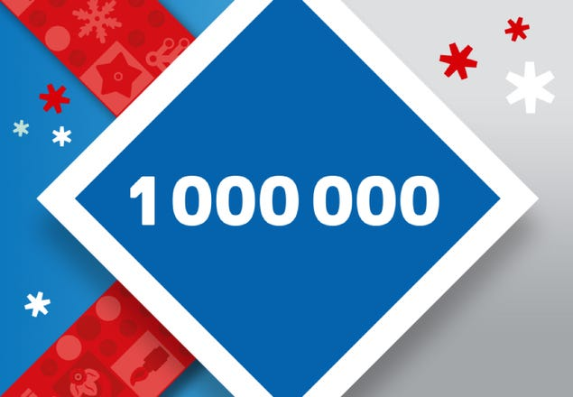 1 Million LEGO VIP Punkte gewinnen | ©LEGO Gruppe