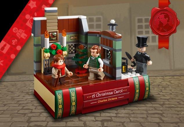 LEGO 40410 Hommage an Charles Dickens am LEGO Black Friday 2020 | ©LEGO Gruppe