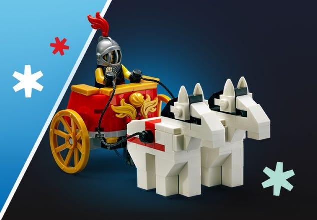 LEGO 5006293 Streitwagen am LEGO Black Friday 2020 | ©LEGO Gruppe