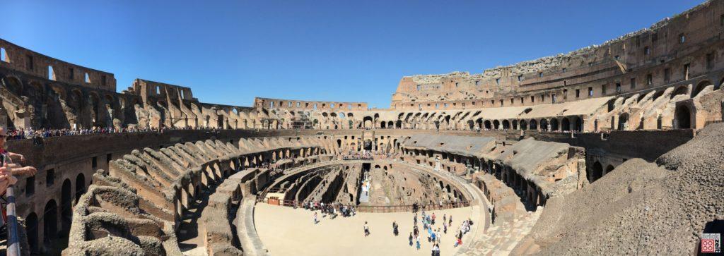 Kolosseum in Rom | ©Brickzeit