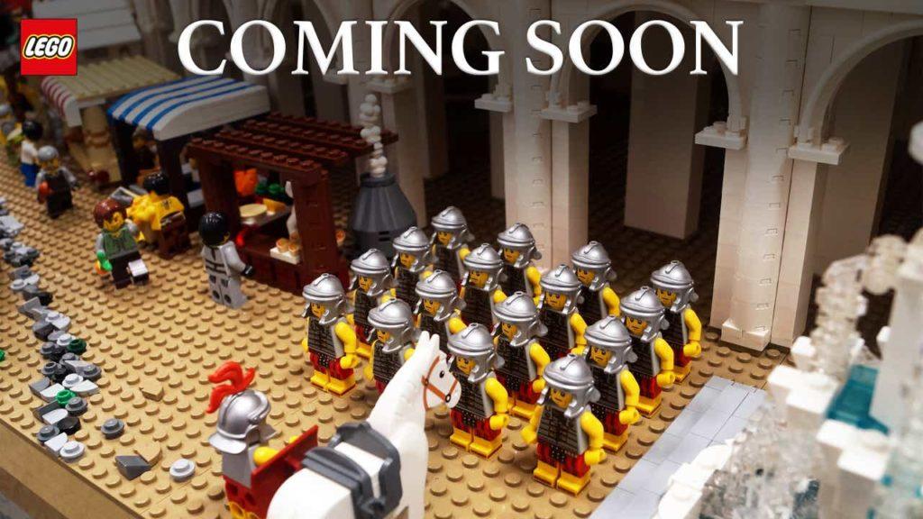 LEGO 10276 Kolosseum - römische Soldaten auf Marktplatz | ©LEGO Gruppe