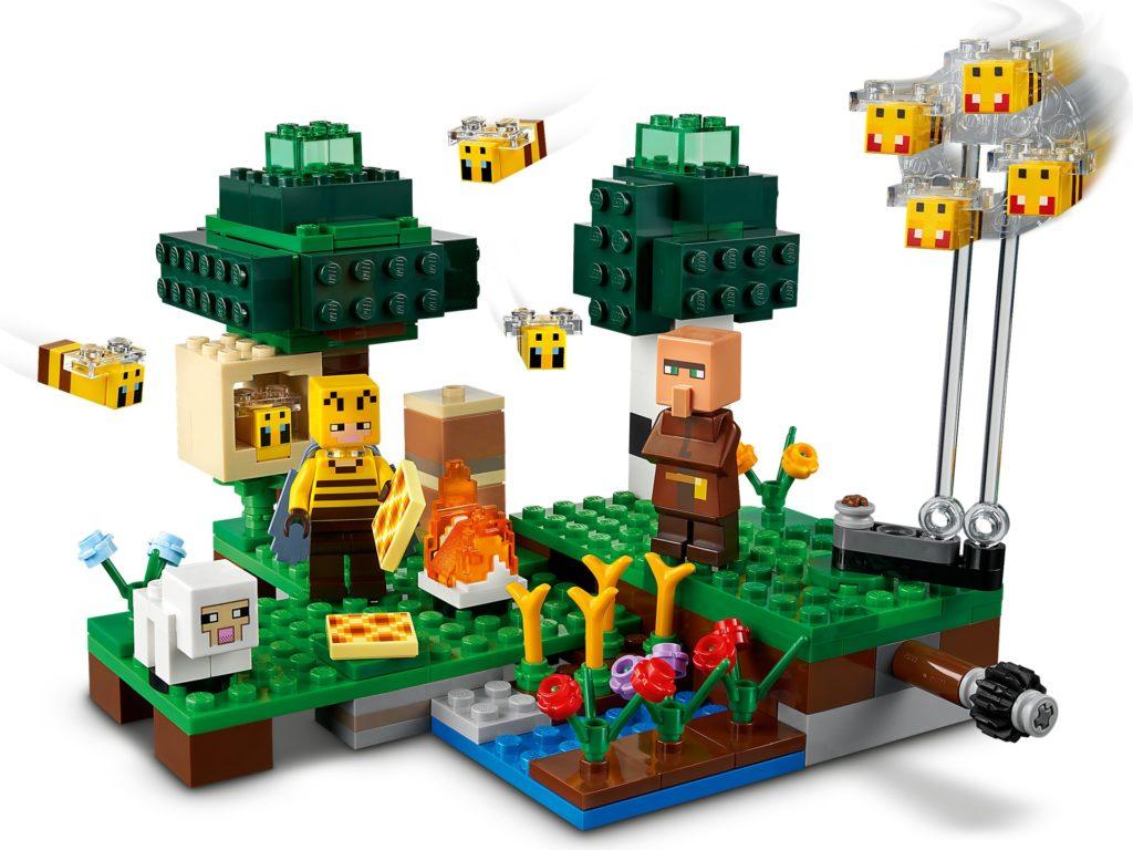 LEGO Minecraft 21165 Die Bienenfarm | ©LEGO Gruppe