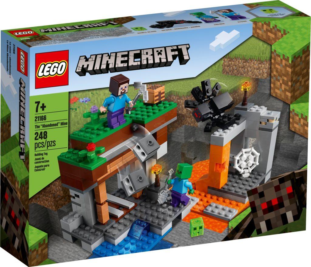 LEGO Minecraft 21166 Die verlassene Mine | ©LEGO Gruppe