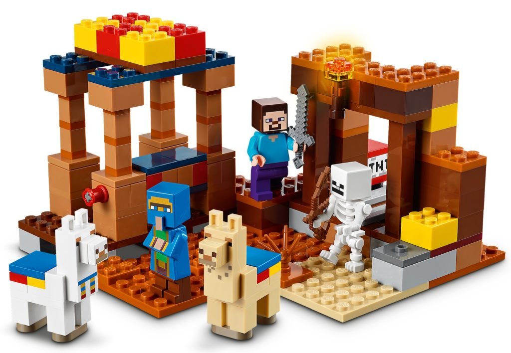 LEGO Minecraft 21167 The Trading Post | ©LEGO Gruppe