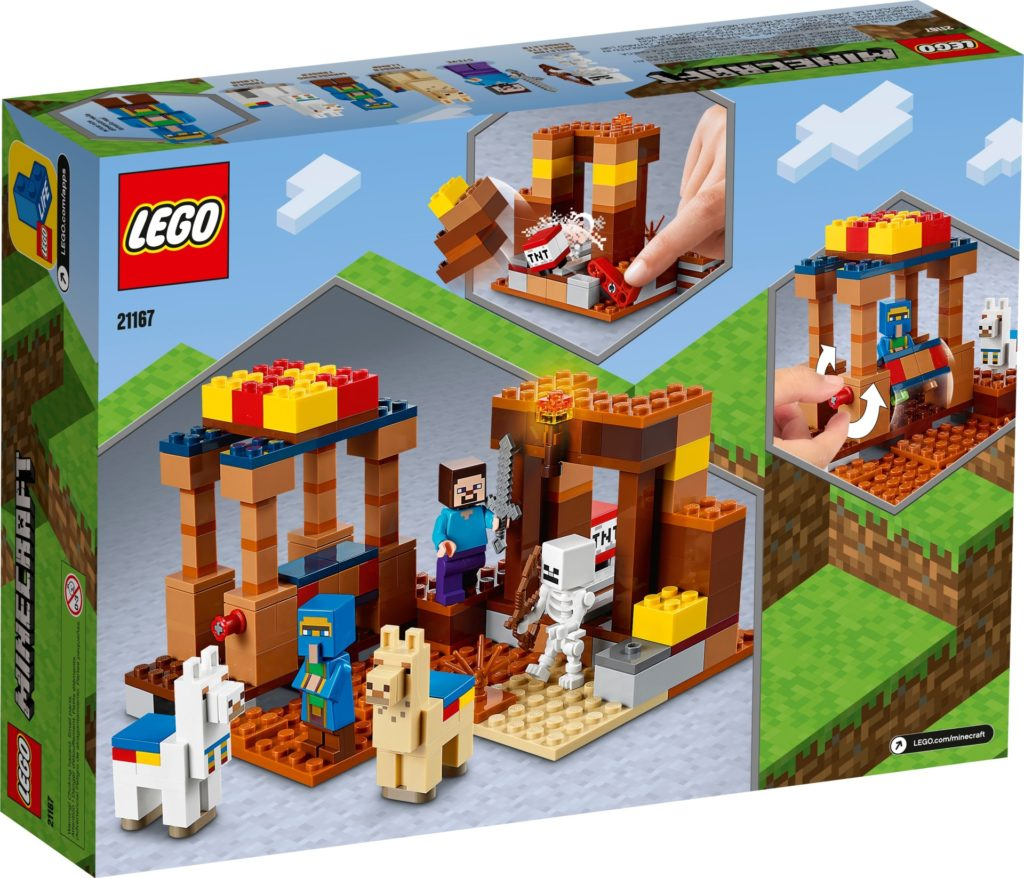 LEGO Minecraft 21167 The Trading Post   ©LEGO Gruppe