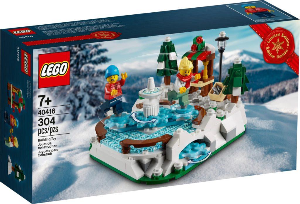 LEGO 40416 Eislaufbahn | ©LEGO Gruppe