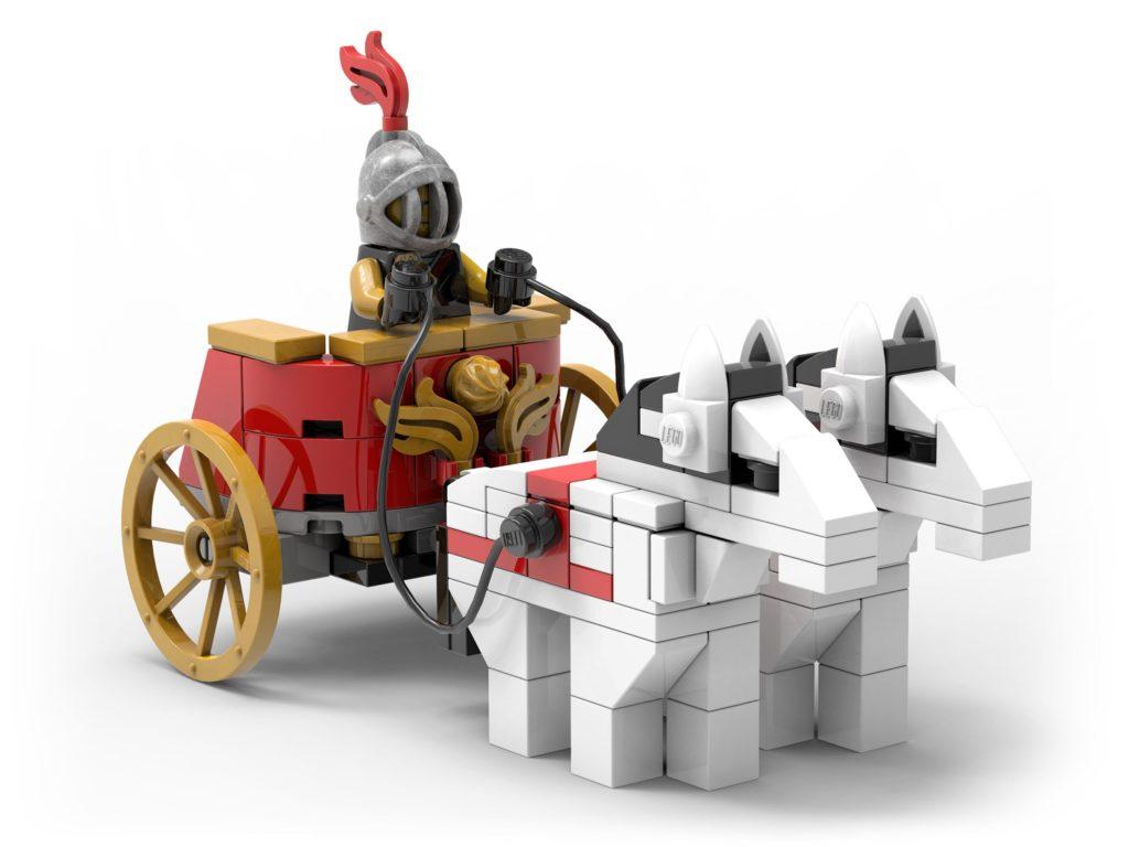 LEGO 5006293 Streitwagen als Gratisbeigabe | ©LEGO Gruppe