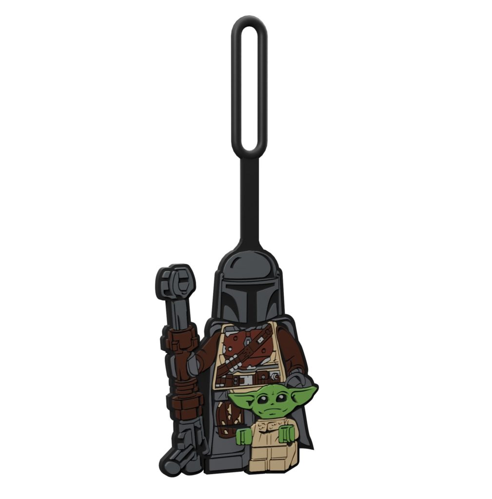 LEGO Star Wars 5006367 Taschenanhänger mit dem Mandalorianer und dem Kind | ©LEGO Gruppe
