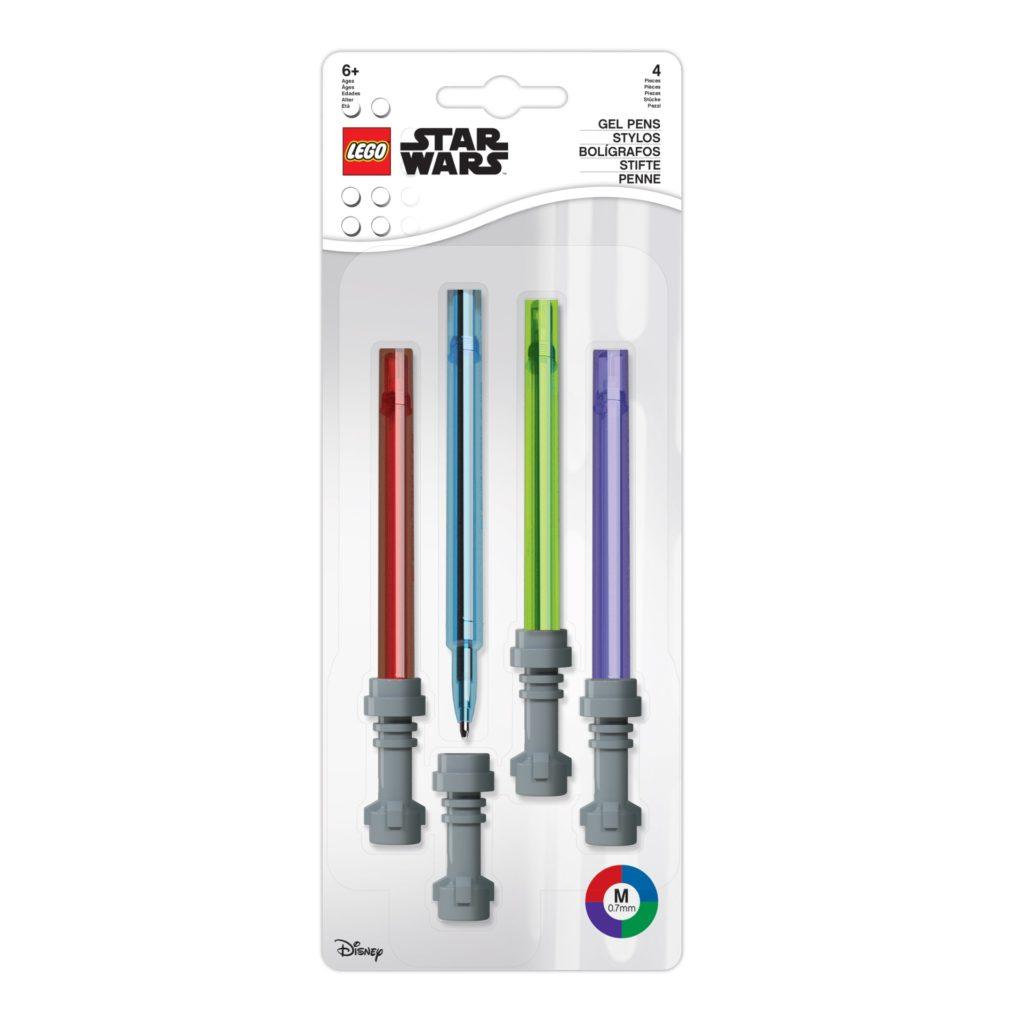 LEGO Star Wars 5006372 Lichtschwert-Gelschreiber (4er-Set) | ©LEGO Gruppe