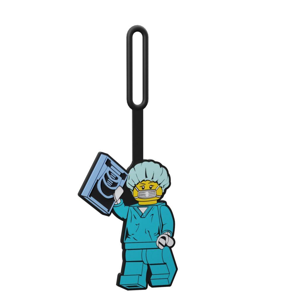 LEGO City 5006376 Chirurg-Taschenanhänger | ©LEGO Gruppe