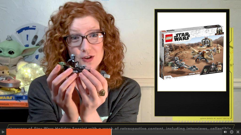 Vorstellung von Beskar-Mando und dem LEGO Set 75299 in This Week! in Star Wars vom 19.11.2020