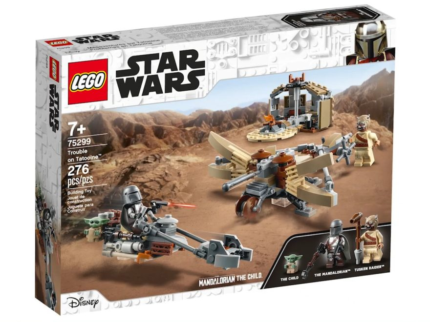 LEGO Star Wars 75299 Trouble on Tatooine - Packung | ©LEGO Gruppe