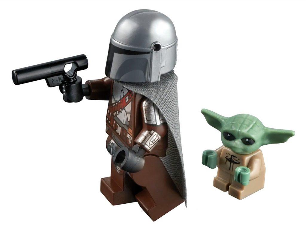 LEGO 75299 Beskar Mando und Baby Yoda | ©LEGO Gruppe