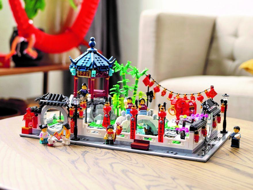 LEGO 80107 Frühlingslaternenfest | ©LEGO Gruppe