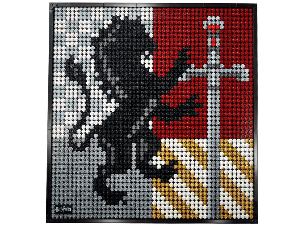 LEGO Art 31201 Harry Potter™ Hogwarts™ Wappen | ©LEGO Gruppe