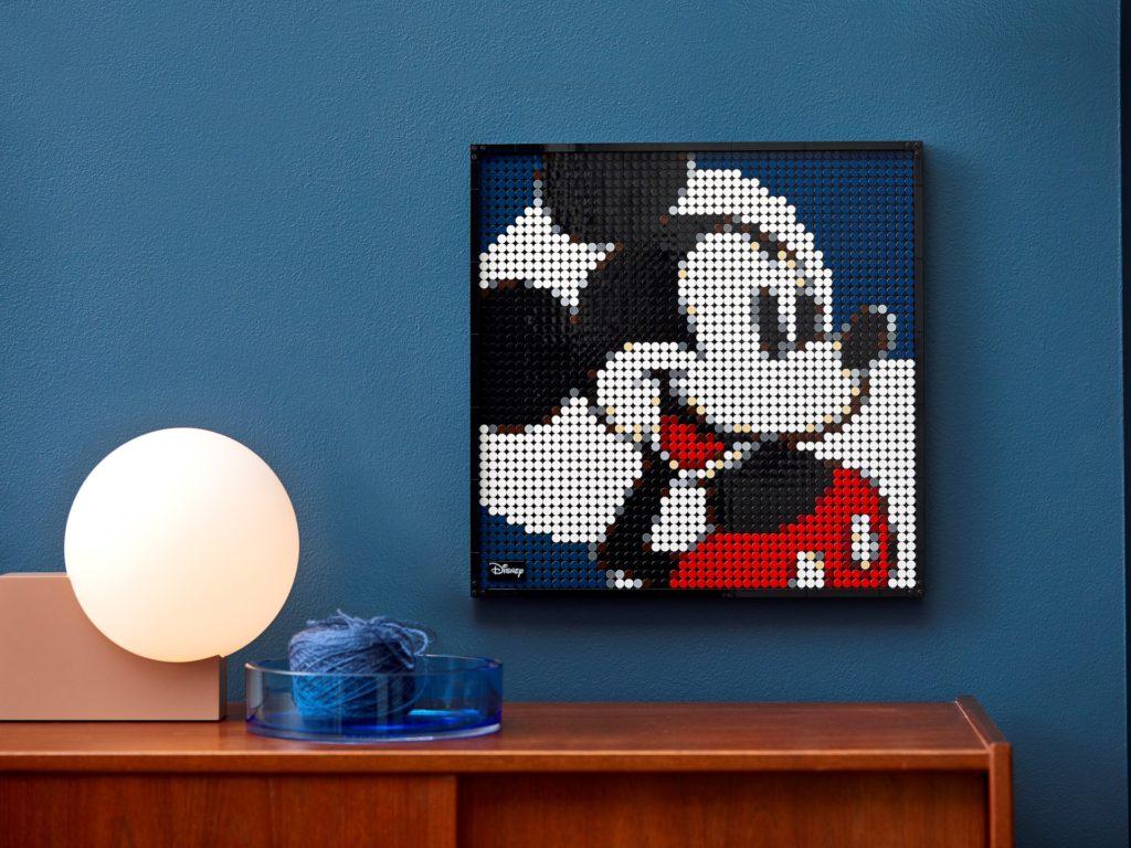 LEGO Art 31202 Disney's Mickey Mouse | ©LEGO Gruppe