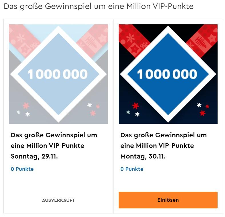 LEGO Cyber Monday - Neue Chance auf 1 Mio. VIP Punkte im Prämiencenter