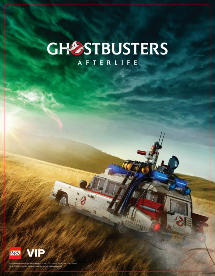 Ghostbusters:Afterlife LEGO VIP Poster | LEGO
