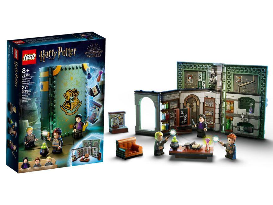 LEGO Harry Potter Hogwarts Moments: Baubare Bücher | ©LEGO Gruppe