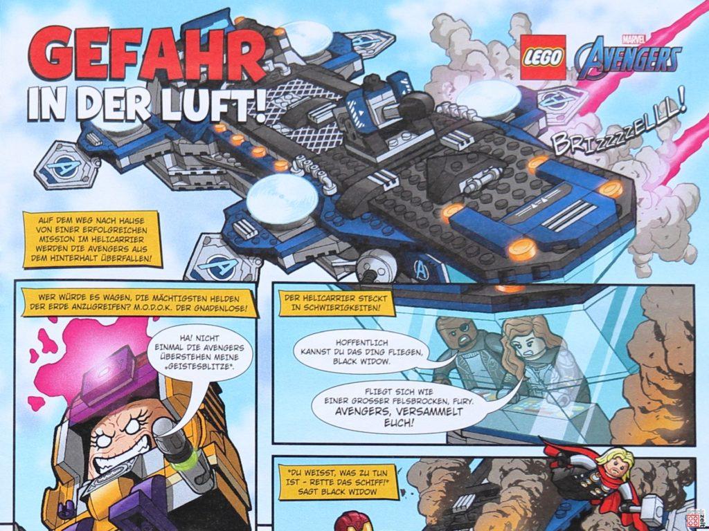 Comic-Auszug aus LEGO Life Magazin Nr. 4