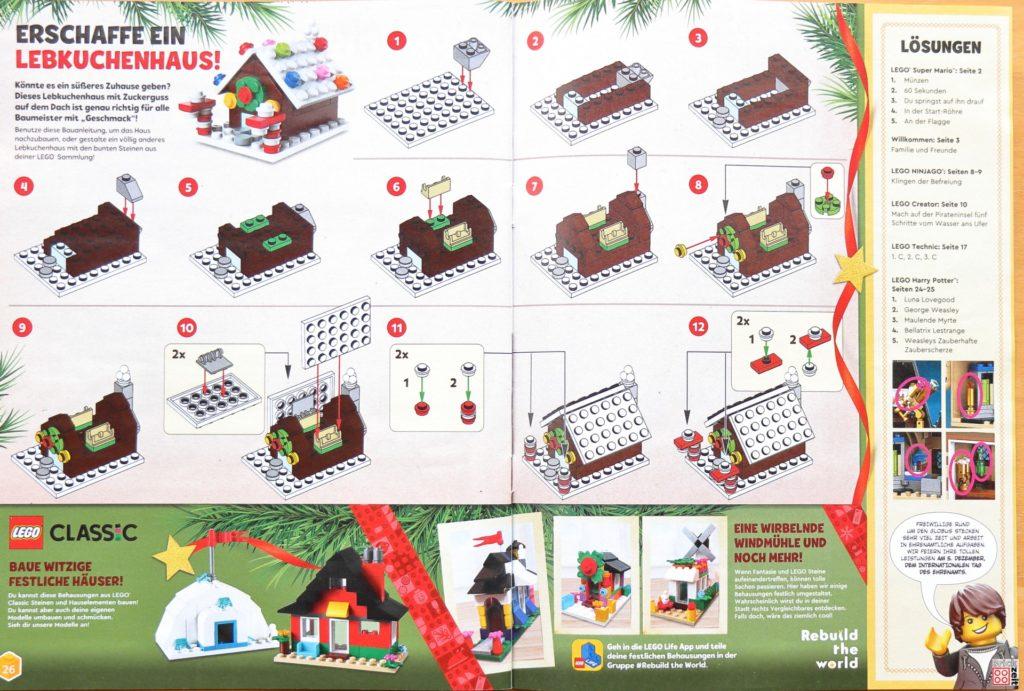 Anleitung kleines Lebkuchenhaus