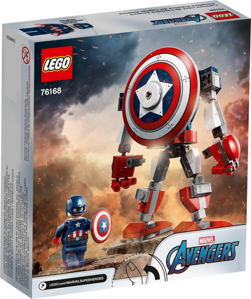 LEGO Marvel 76168 Captain America Mech | ©LEGO Gruppe