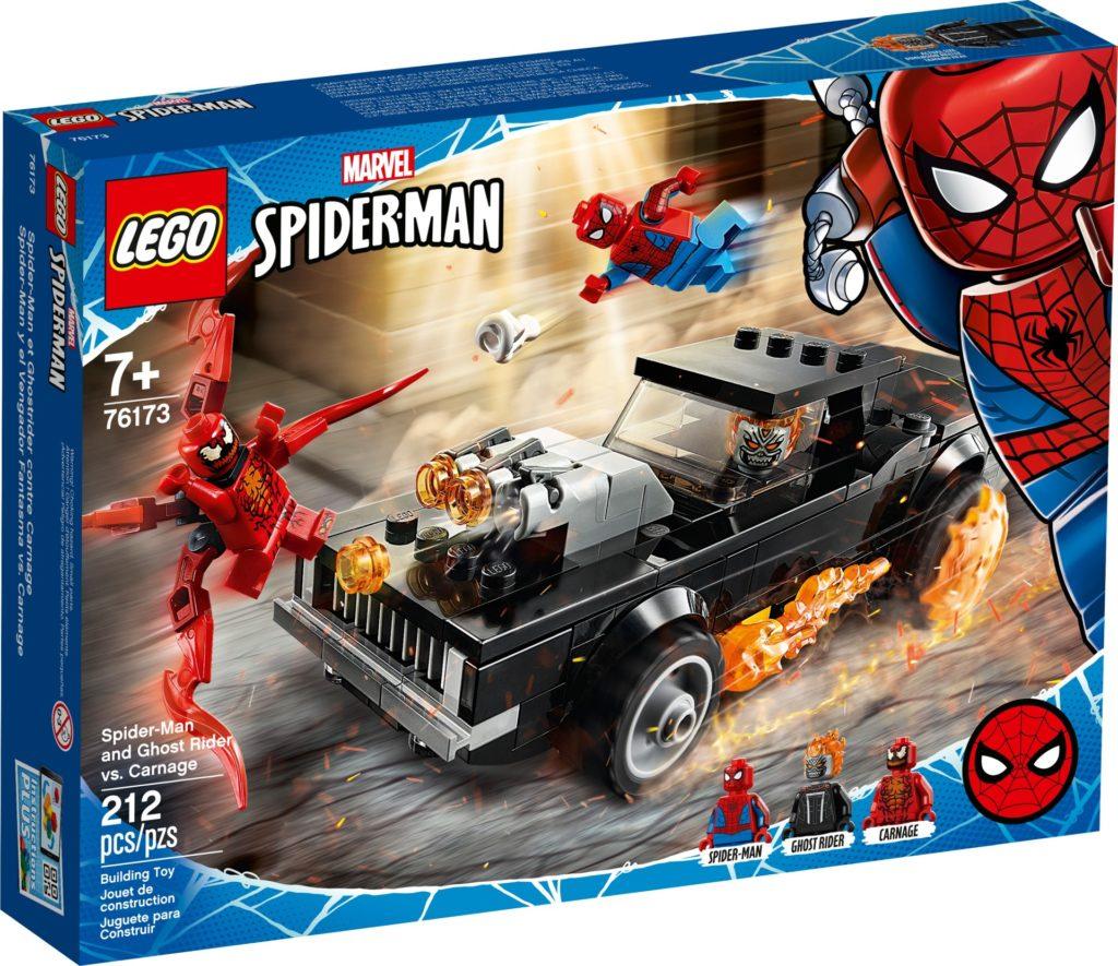 LEGO Marvel 76173 Spider-Man und Ghost Rider vs. Carnage | ©LEGO Gruppe