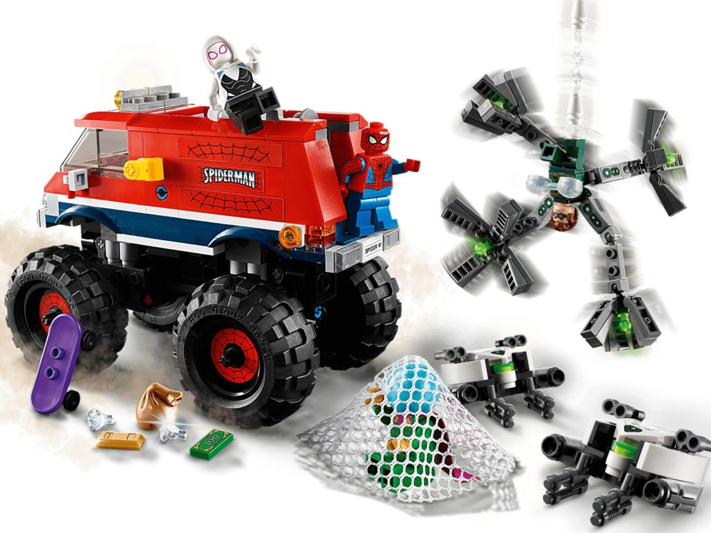 LEGO Marvel 76174 Spider-Mans Monstertruck vs. Mysterio | ©LEGO Gruppe