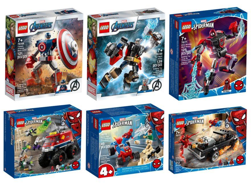 LEGO Marvel Neuheiten Januar 2021 | ©LEGO Gruppe