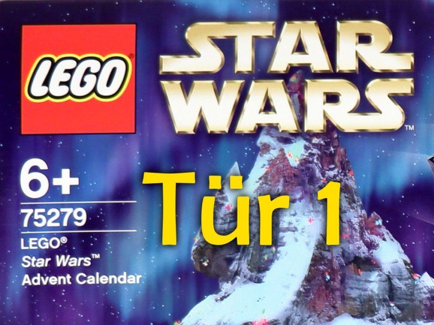 Tür 1 - LEGO Star Wars Adventskalender