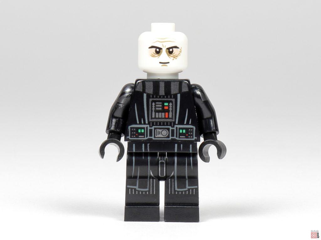 LEGO Star Wars 75291 - Darth Vader, Vorderseite ohne Zubehör| ©Brickzeit
