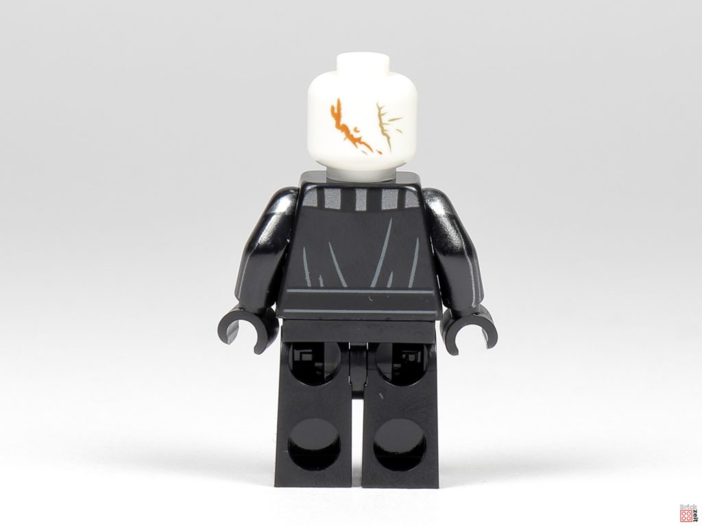 LEGO Star Wars 75291 - Darth Vader, Rückseite ohne Zubehör| ©Brickzeit