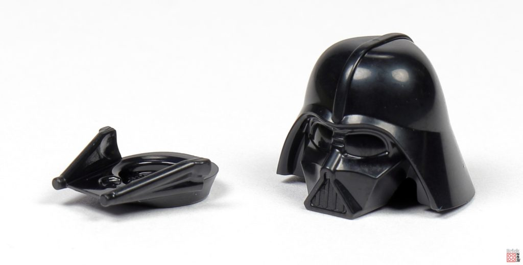 LEGO Star Wars 75291 - Helm von Darth Vader in zwei Teilen | ©Brickzeit