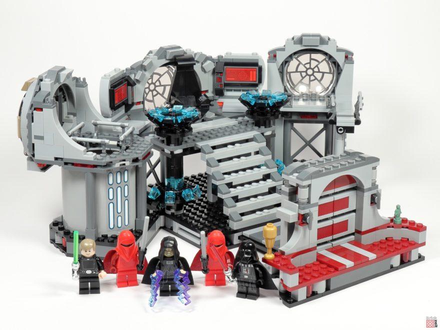 Review - LEGO Star Wars 75291 Todesstern - Letztes Duell | ©Brickzeit