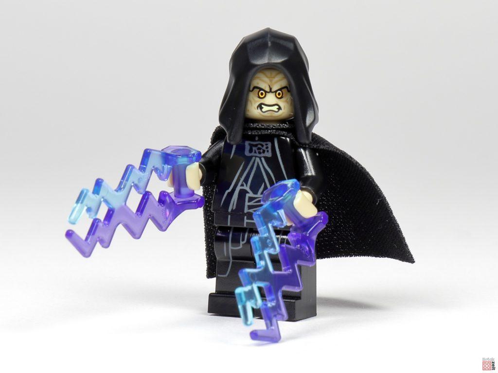 LEGO Star Wars 75291 - Imperator Palpatine mit Machtblitzen | ©Brickzeit