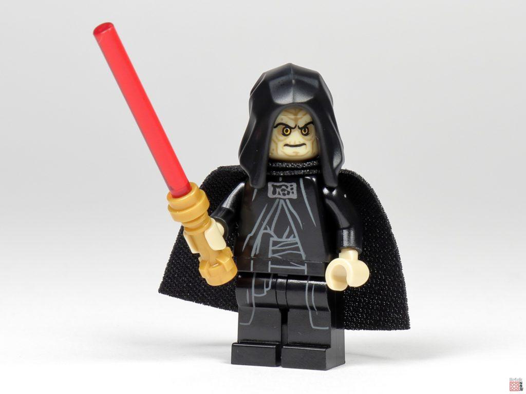 LEGO Star Wars 75291 - Imperator Palpatine mit Lichtschwert (goldener Griff) | ©Brickzeit