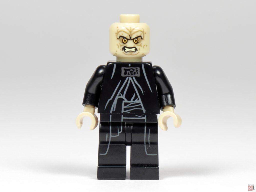 LEGO Star Wars 75291 - Imperator Palpatine ohne Zubehör, Vorderseite| ©Brickzeit
