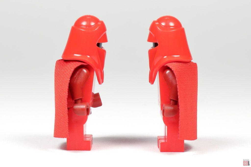 LEGO Star Wars 75291 - imperiale Ehrengarde, seitlich | ©Brickzeit