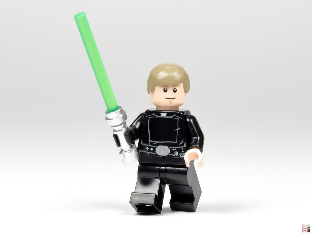 LEGO Star Wars 75291 - Jedi-Ritter Luke Skywalker mit grünem Lichtschwert | ©Brickzeit