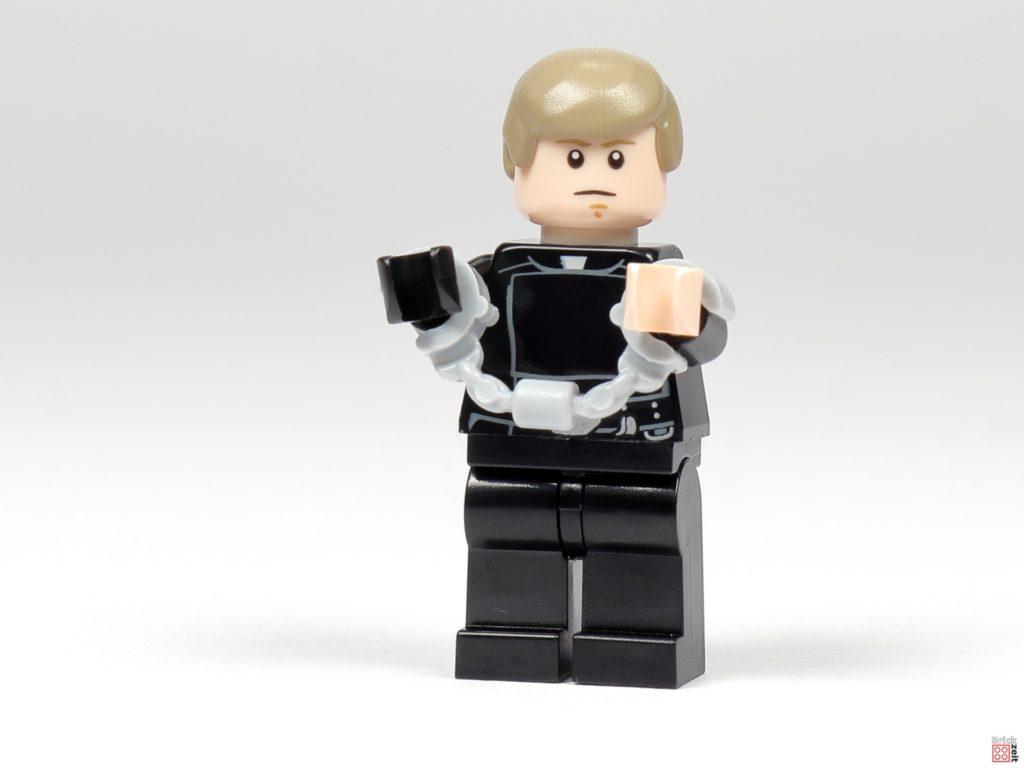 LEGO Star Wars 75291 - Jedi-Ritter Luke Skywalker mit Handschellen | ©Brickzeit