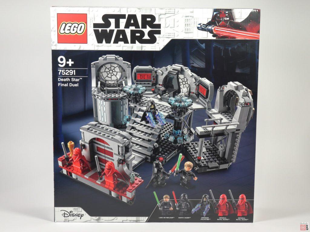 LEGO Star Wars 75291 Todesstern - Letztes Duell - Packung, Vorderseite | ©Brickzeit