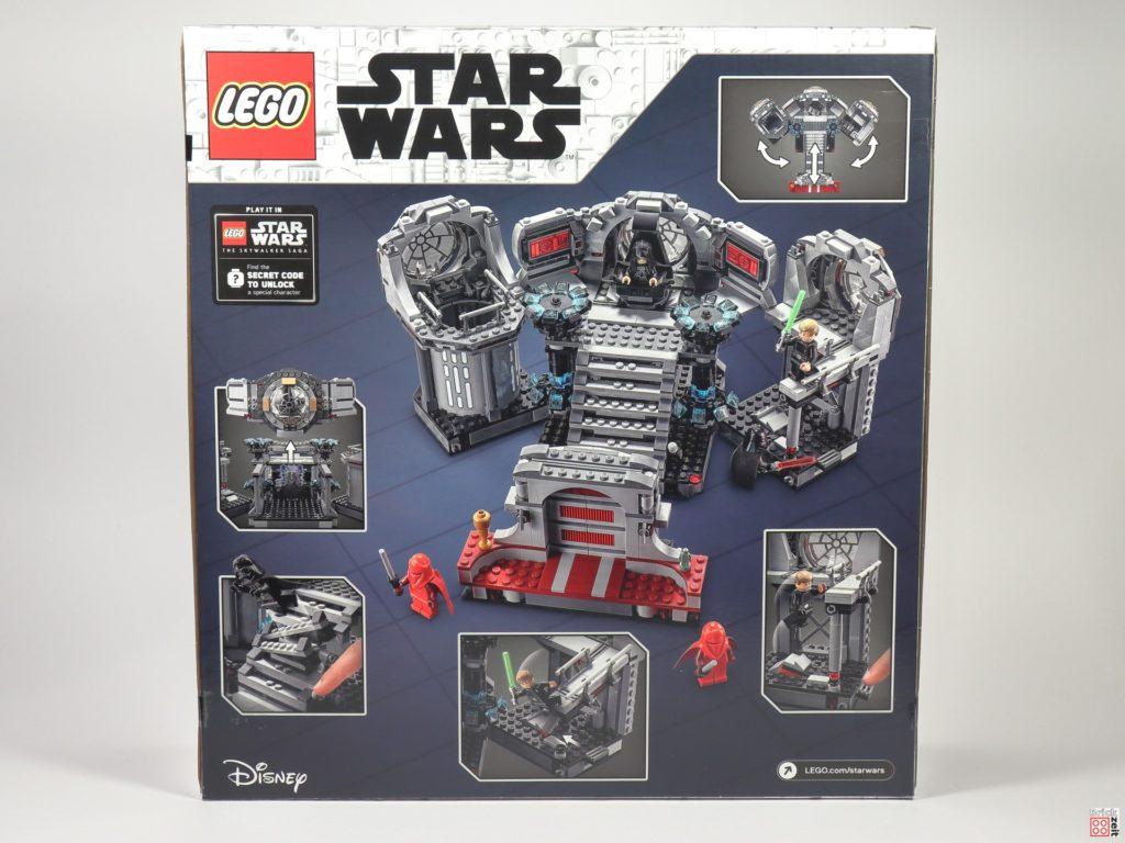 LEGO Star Wars 75291 Todesstern - Letztes Duell - Packung, Rückseite | ©Brickzeit