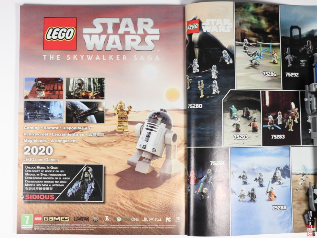 LEGO Star Wars 75291 - Anleitung, Hinweis auf Videogame | ©Brickzeit