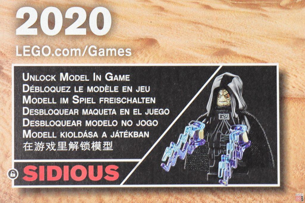 LEGO Star Wars 75291 - Freischalt-Code für Videogame | ©Brickzeit
